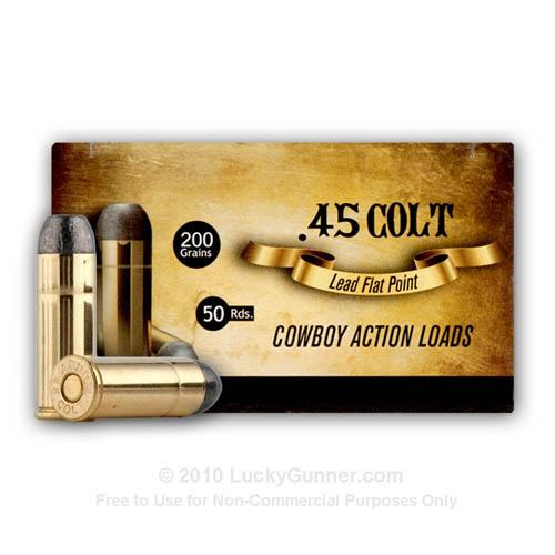 Aguila Cowboy Action 45 Long Colt Ammunition=
