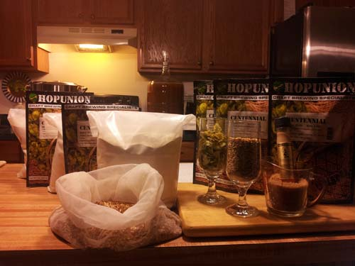 Centennial IPA Recipe for Home Brewing