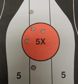 44 Desert Eagle Target