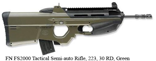 FN-FS2000-Tactical-Semi-auto-Rifle-223-30-RD-Green=