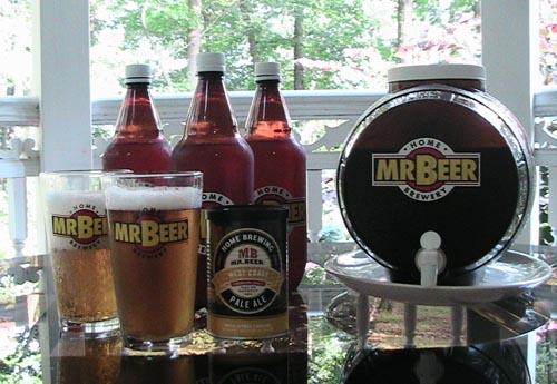 Mr. Beer West Coast Pale Ale Homebrewing Kit